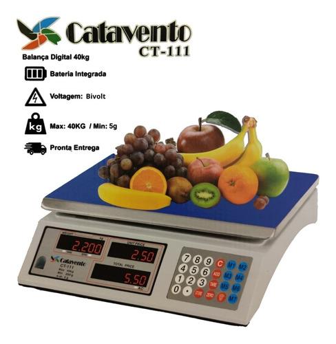 Balança Comercial 40kg Catavento Bivolt