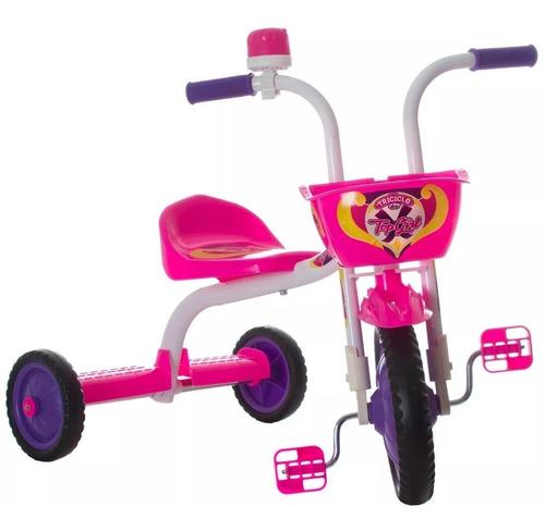 Triciclo Infantil Menina Top Girl Ultra Feminino