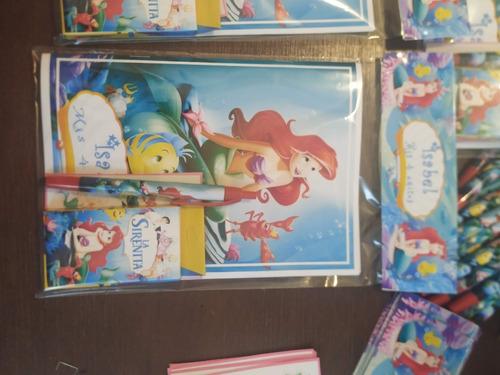 La Sirenita, Sorpresitas O Souvenirs  Cumpleaños Infantiles
