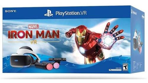Vr Visor Ps4 Iron Man Marvel Bundle Edition Pack Completo