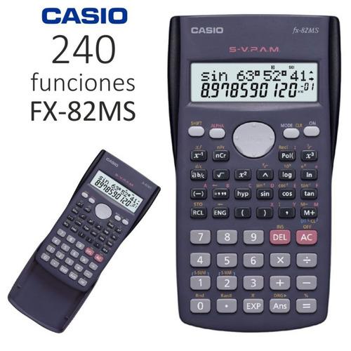Calculadora Cientifica Casio Fx 82ms 240 Funciones