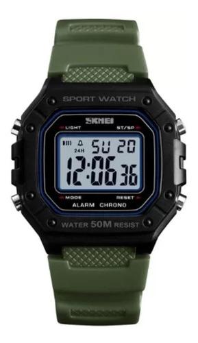 Relógio Digital Aprova D'agua Masculino Skmei 1496 Promoção