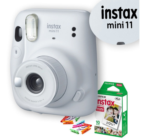 Câmera Instax Mini Filme Brinde Todas As Cores