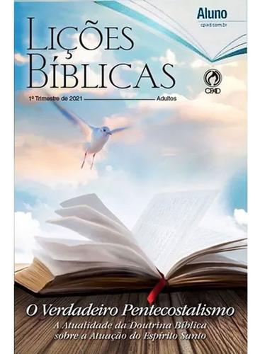 Revista Lições Bíblias Adulto 1° Trimestre 2021 - Aluno