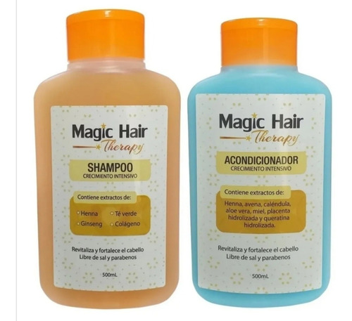 Magic Hair Shampoo Y Acondicionador Para - g a $32