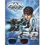 Livro Em 3 D Max Steel O Grande Confronto C/ Óculos