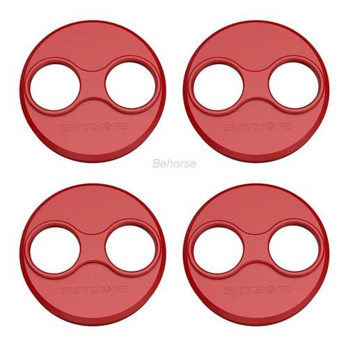 4 Uds Dji Mavic Mini Tapa Del Motor Drone - Color Rojo.