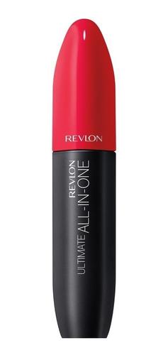 Máscara De Pestañas Revlon Ultimate All In One 8.5ml Color Blackest Black