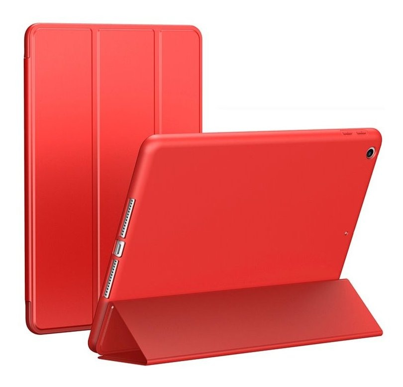 FUNDA SMART NEW IPAD 10.2 ROJO (TPU)