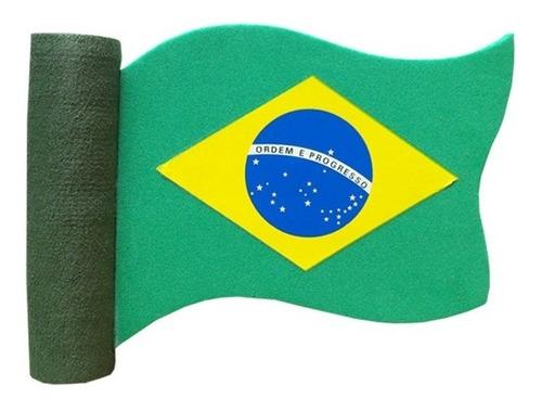 Enfeite Para Antena De Carros Bandeira Do Brasil