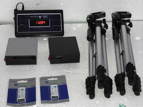 Kit De Fotocélulas Para Cronometragem Baliza Tambor