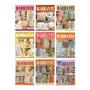 3 Revistas Amigurumis Crochê 7 Barbante Banheiros Cozinhas