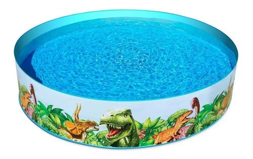 Piscina Semi-rígida Dinossauro 2074 L Envio Imediato