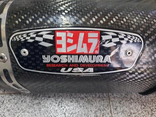 Escape Yamaha Fz8 Yoshimura Carbono Original Japon