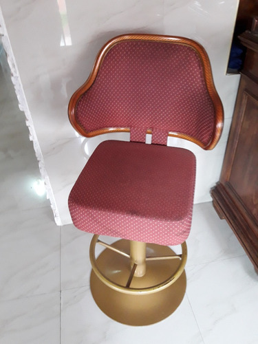 Silla Giratoria Excelente Estado Ideal Barberia Decoracion