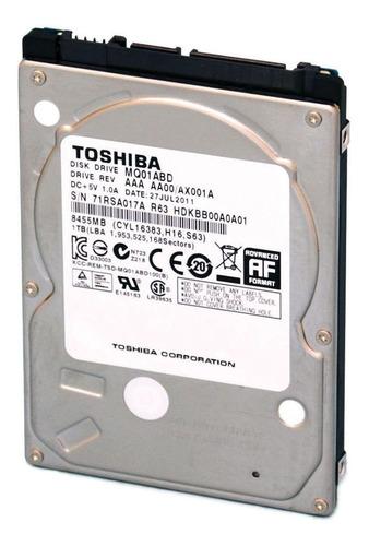 Disco Rígido Interno Toshiba Mq01abd Series Mq01abd100 1tb