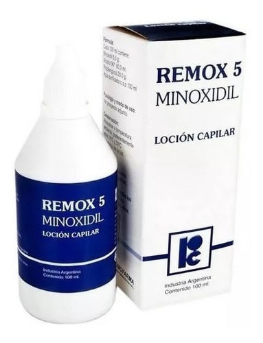 Remox 5 Loción Capilar 100 Ml (minoxidil) - Lab. Roemmers®