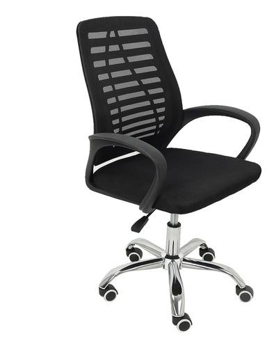 Cadeira De Escritório Trevalla Tl-cde-34-1 Giratória Preta