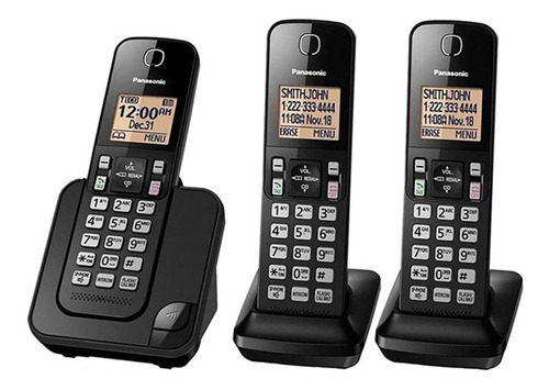 Teléfono Inalámbrico Panasonic Kx-tgc353 Negro