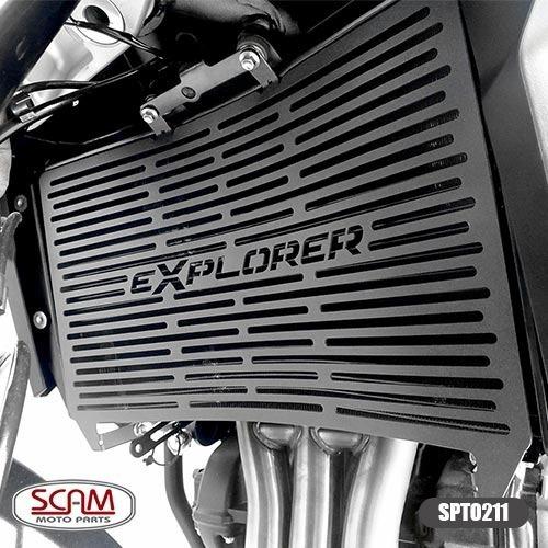 Spto211 Protetor De Radiador Scam Tiger 1200 Explorer 2012