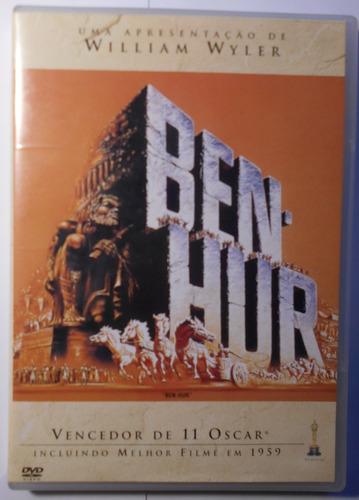 Ben Hur Dvd Duplo  Nacional Usado Charlton Heston 59 Original
