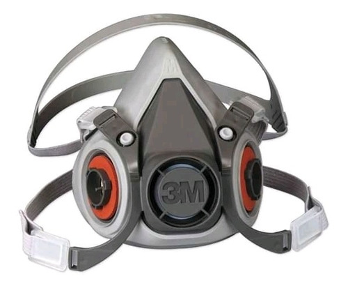 Respirador De Media Cara Doble Cartucho 3m 6200
