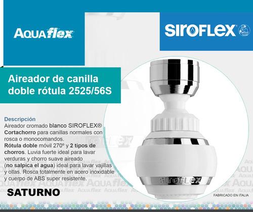 Aireador Canilla Con Doble Rotula Siroflex 2525/56s Aquaflex