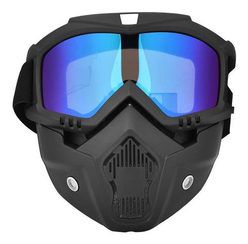 Inverno Snow Ski Snowboard Motocicleta Máscara Rosto Comple