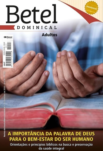 Revistas Lições Bíblicas Adulto Professor Editora Betel