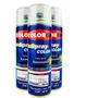 Spray Automotiva Colorgin Verniz Rápido 300ml 3un