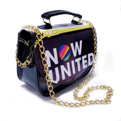 Bolsinha Now United Balada Com Corrente Lançamento Mini Bag