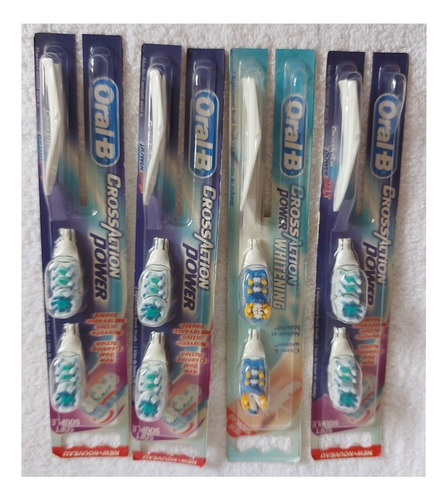 Repuesto Cabezal Cepillo Eléctrico Oral B 3d White Original