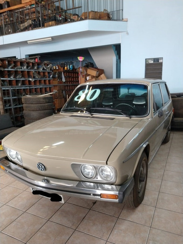 Vw Brasilia 1980 Cinza 1.6