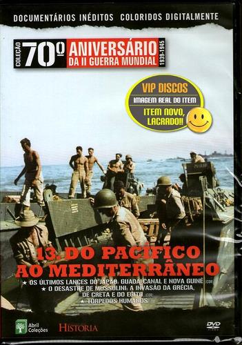 Dvd Coleção 70 ª Aniversário Da Segunda Guerra Vol. 13 Novo Original