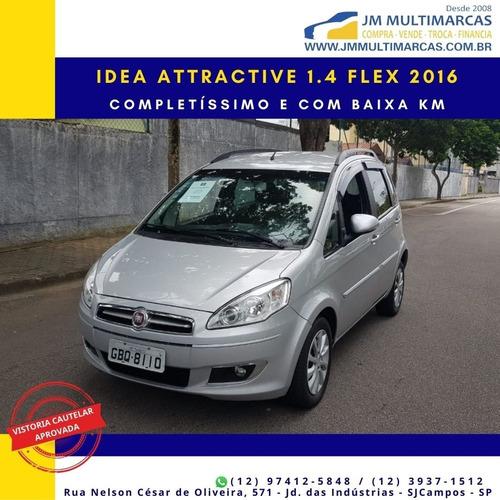 Fiat Idea Attractive 1.4 Flex 2016 Impecável E Com Baixa Km