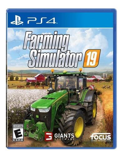 Farming Simulator 19 Standard Edition Maximum Games Ps4 Físico