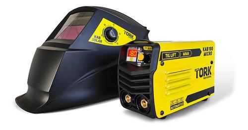 Maquina De Solda Inversora Kab 180 M Bivolt Mma Tig Mascara