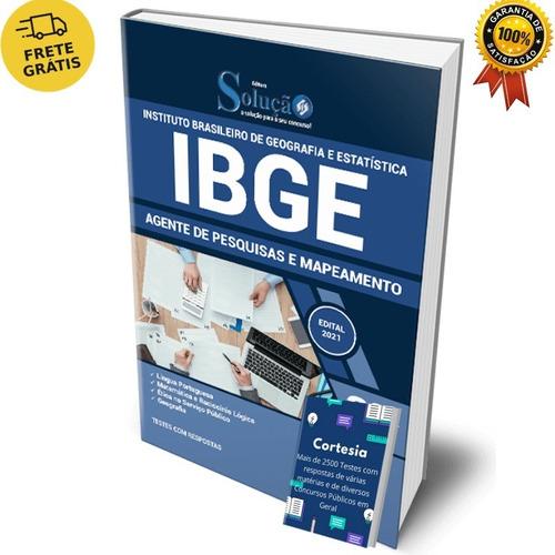 Apostila Agente De Pesquisa E Mapeamento Concurso Ibge