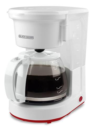 Cafetera Black+decker Cm0410 Blanca 220v