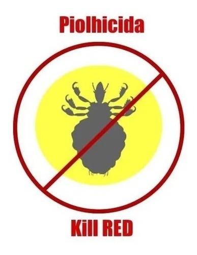 Piolhicida Kill Red 16 Gramas Original