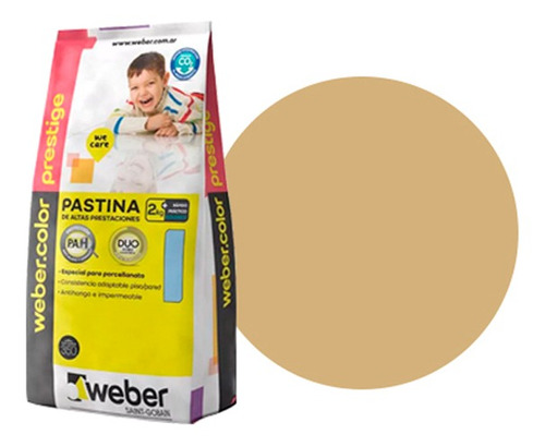 Pastina Weber Prestige Beige 2 Kgs