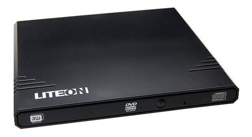 Grabadora Lectora Externa Dvd Cd 8x Slim Usb Pc / Tv  Liteon