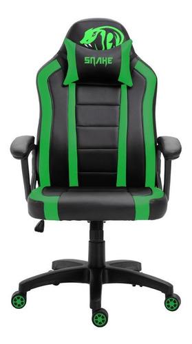 Cadeira Gamer Viper Snake Gaming Reclinável 0440 - Verde