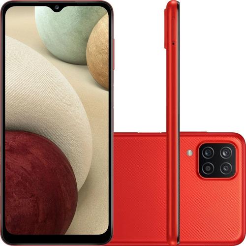 Celular Samsung Galaxy A12 A125 Dual 64gb 4gb Ram Vermelho