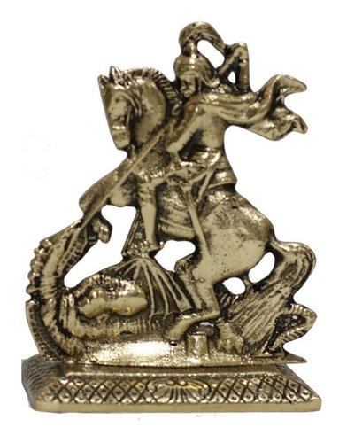 Imagem São Jorge De Bronze - 16cm