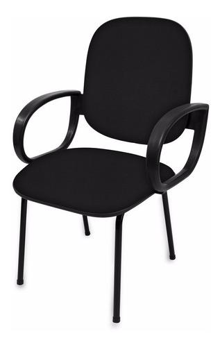 Cadeira Fixa Diretor Com Braço - Igrejas - Direto Da Fabrica