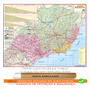 Mapa Político Rodoviário Da Região Sudeste Enrolado