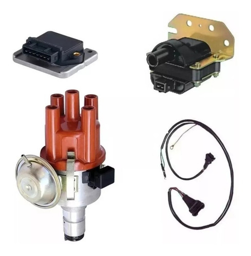 Kit Encendido Electronico Distribuidor Fusca Brasilia Komb