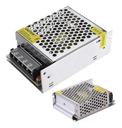 Fuente Switching 5v 10a Metalica Transformador Led Pixel 50w