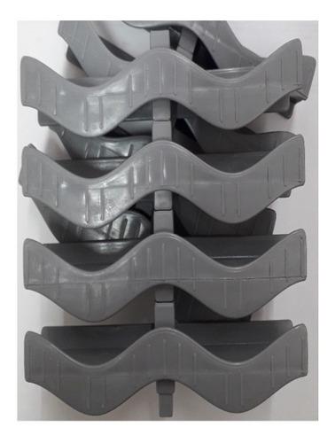 Grelha Flexível Plástica 15cm - 1 Metro